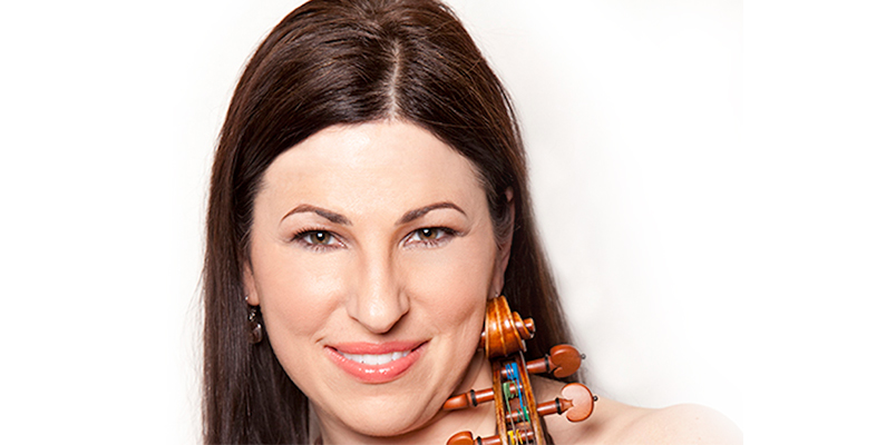 Master Class with Amy Schwartz Moretti, violinist