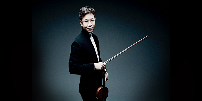 Master Class with Paul Huang, violinist
