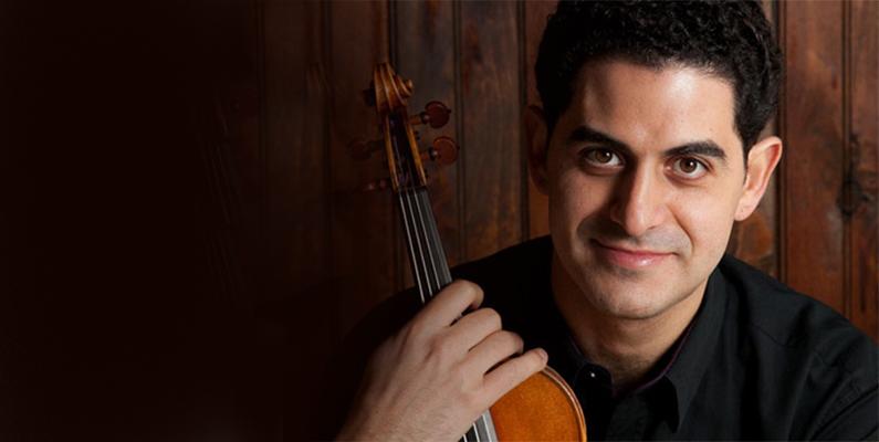 Master Class with Arnaud Sussmann, violinist