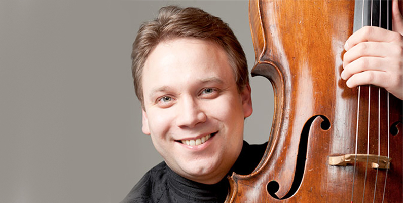Master Class with Dmitri Atapine, cellist