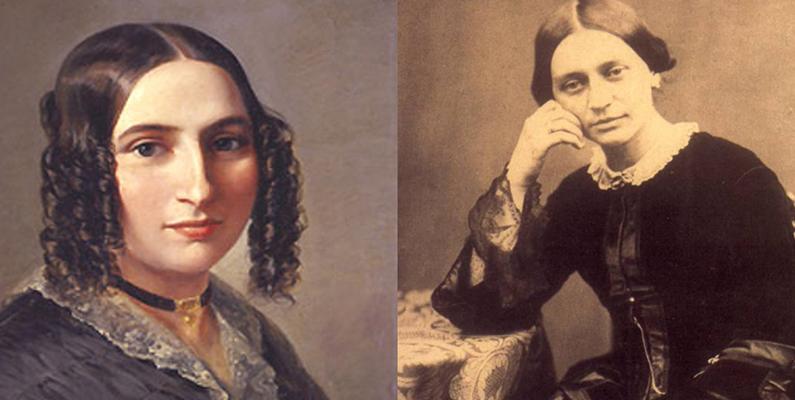 Café Conversation: Fanny Mendelssohn Hensel and Clara Wieck Schumann
