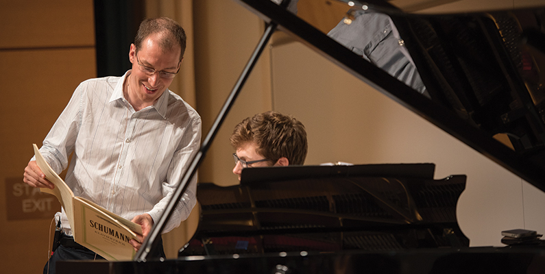 Master Class with Gilles Vonsattel