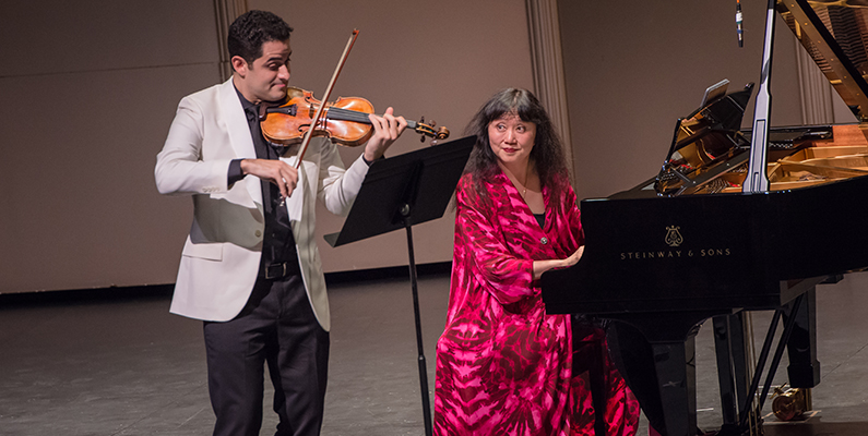 <em>Intermezzo</em> Closing Performance: Wu Han and Arnaud Sussmann