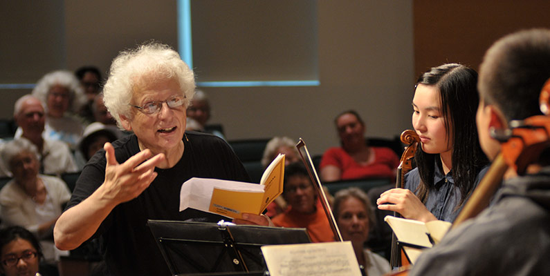 Master Class with Laurence Lesser, <em>cello</em>